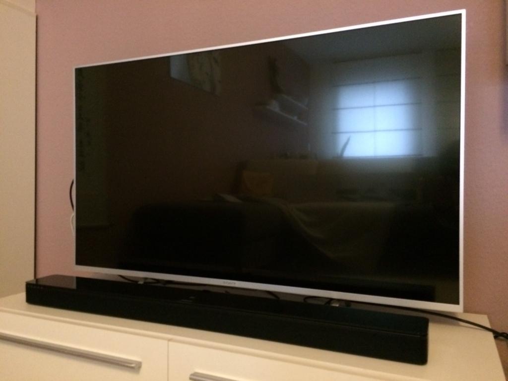 テレビに接続