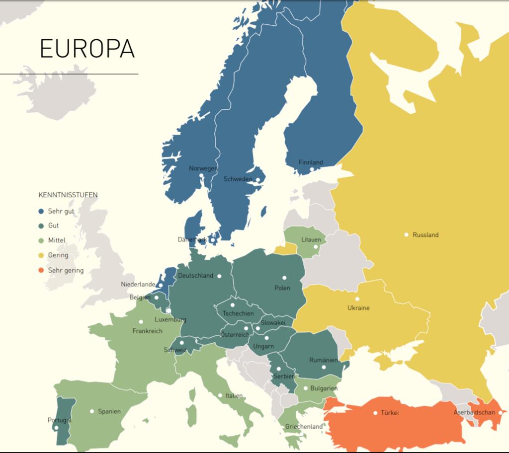 ヨーロッパと英語