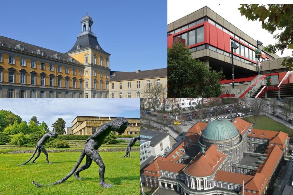 ドイツの高等教育機関の雰囲気