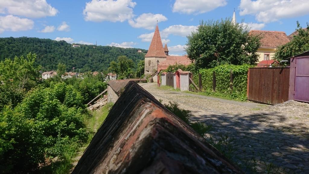 城壁に沿って設置されたギルド塔4
