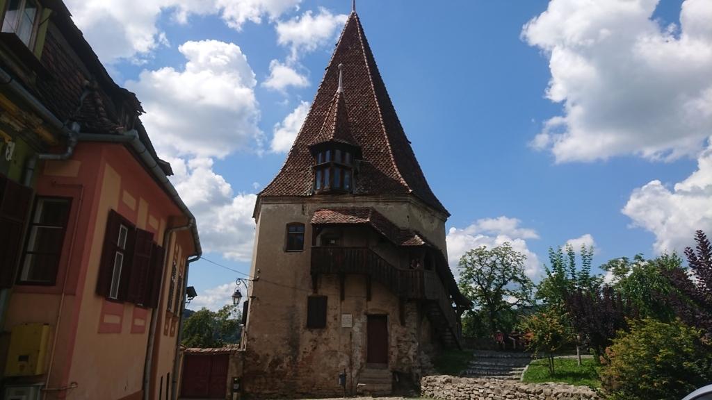 城壁に沿って設置されたギルド塔6