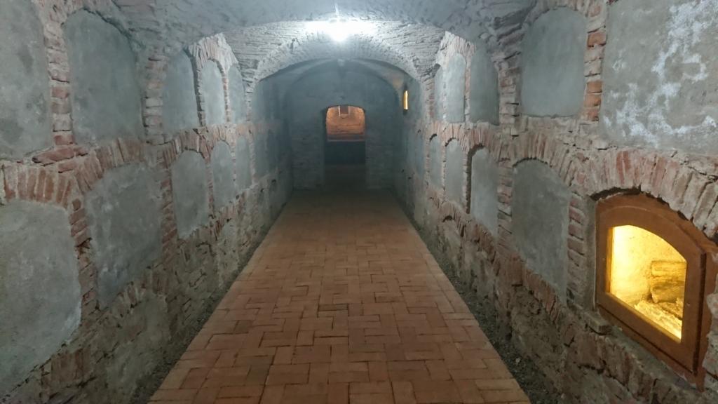 かつての身廊部分