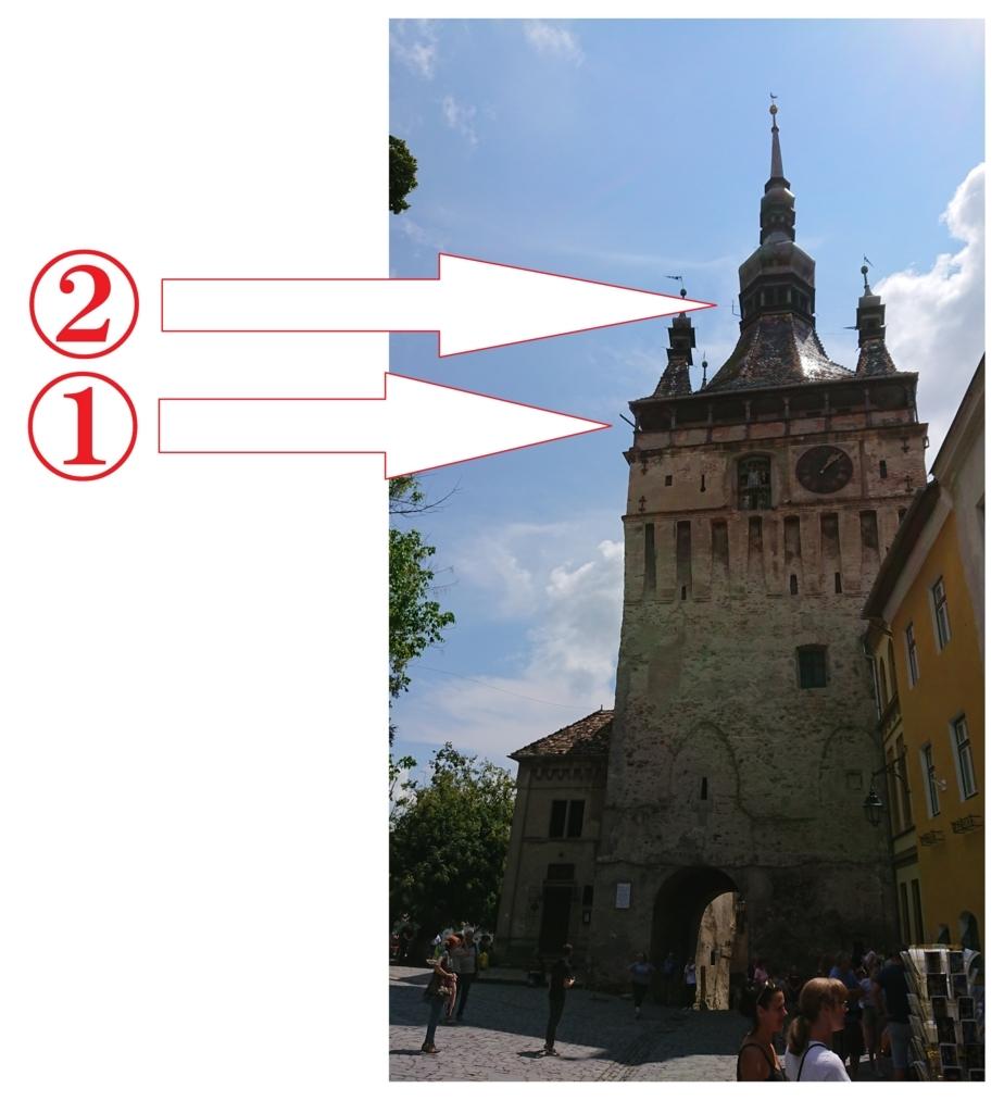 時計塔の見取り図