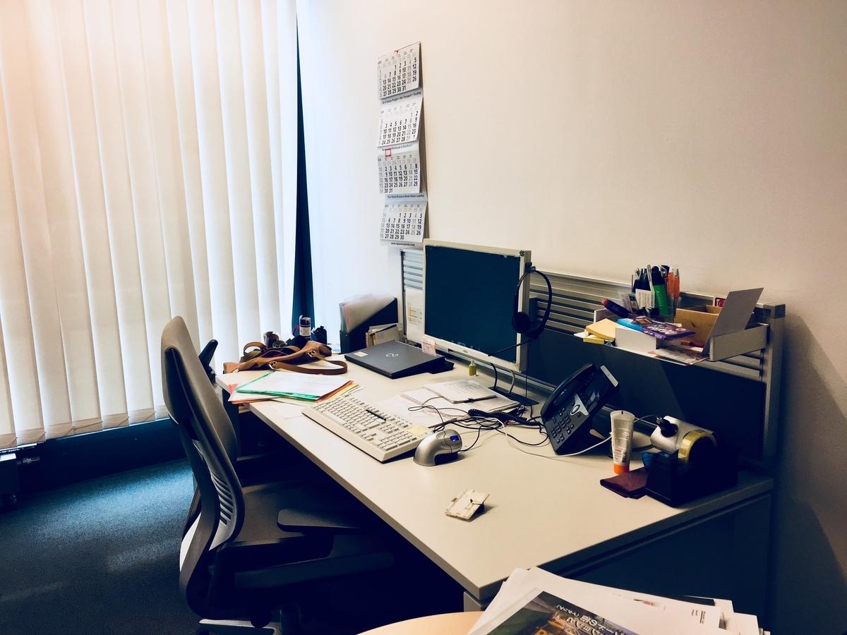 実際のオフィスの様子