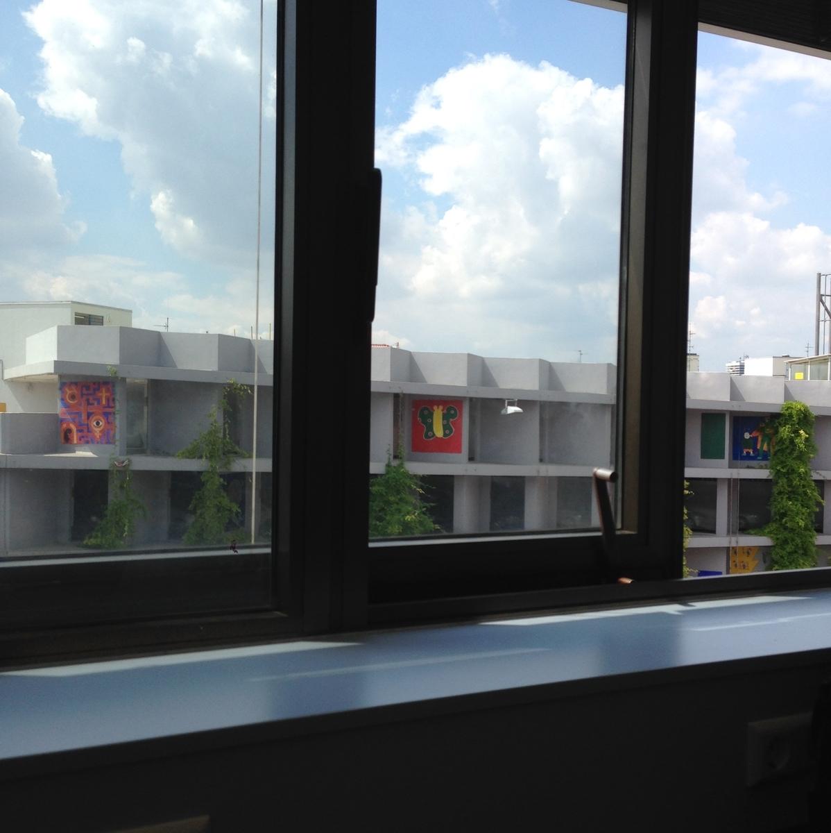 大学から見える景色