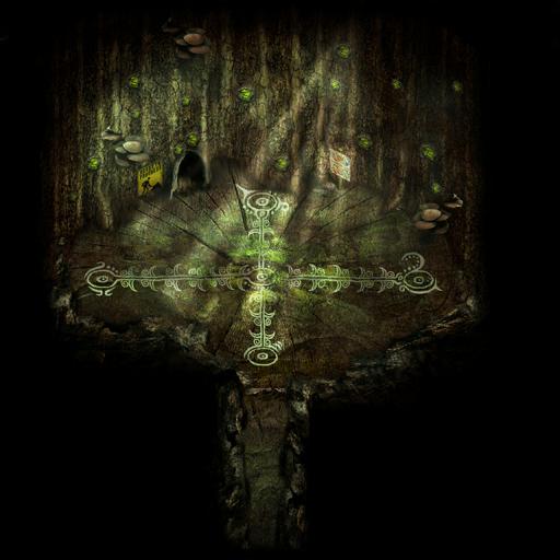 エルフの木の祠