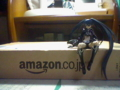 amazon box with B★RS