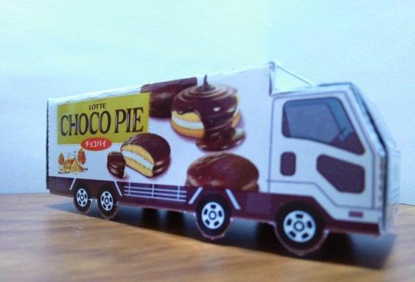 チョコパイトミカ トラック