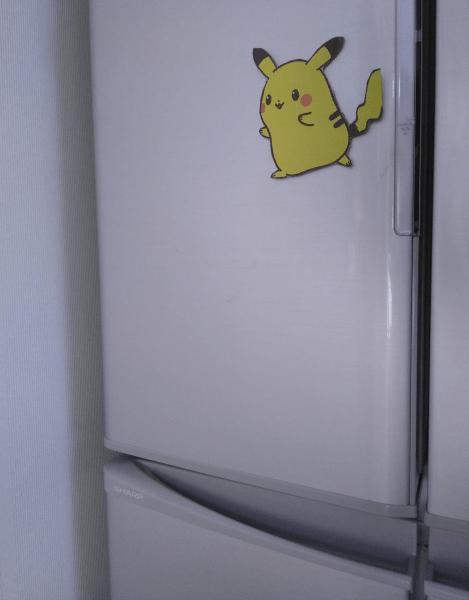 ピカチュウ 冷蔵庫
