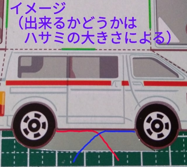 トミカ 救急車 ハサミ