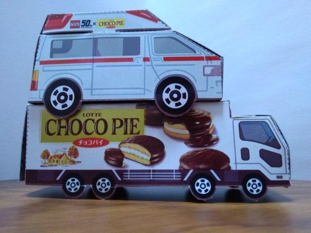 チョコパイ 救急車 トラック