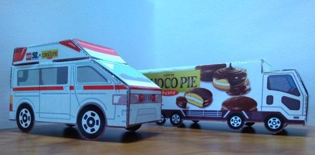 トミカ 救急車 トラック