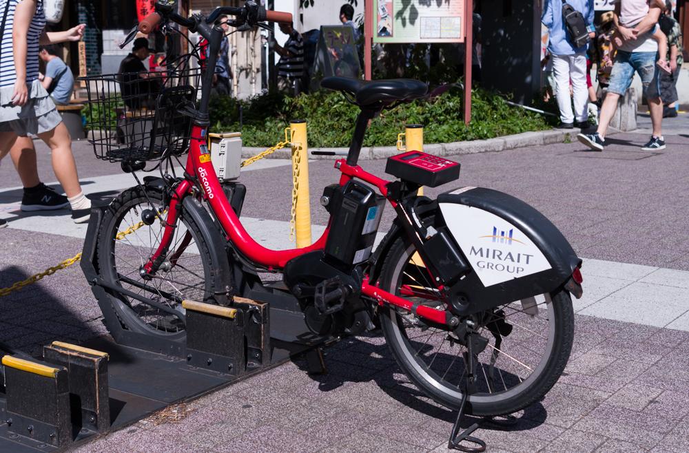 東京自転車シェアリング  コミュニティサイクル