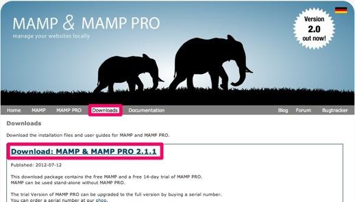 MAMP Mac Apache MySQL PHP