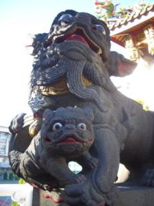 横浜媽祖廟 狛犬