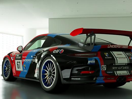 GT-Sport で好きなマシン PORSCHE 911GT3 RS これ乗りやすい