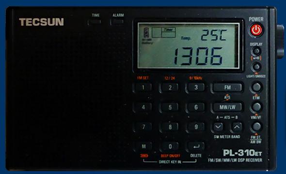 使えるラジオ TECSUN PL-310ET