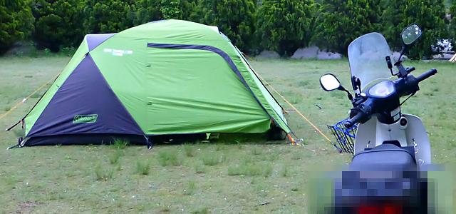 SuperCUB110(JA10)でゆくキャンプツーリング