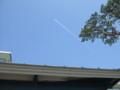 飛行機雲@御殿場プレミアム・アウトレット