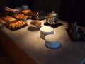 ハイアット12階ラウンジの朝食(その1)