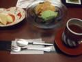 水菓子、甘味、お茶@御宿かわせみ