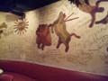 壁のレリーフ@アンベ・クアトロ