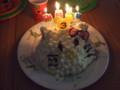 キティちゃんケーキ@3歳誕生会