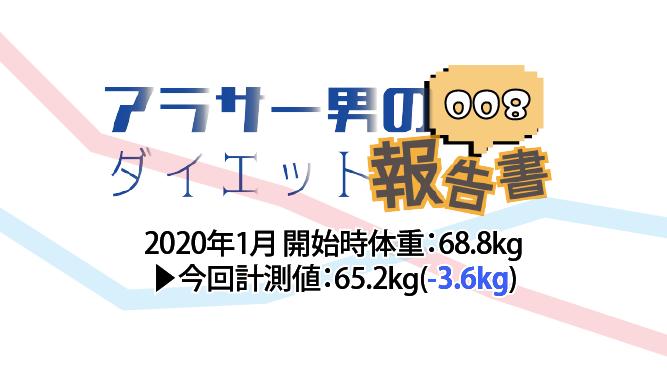 アラサー男のダイエット報告書:008