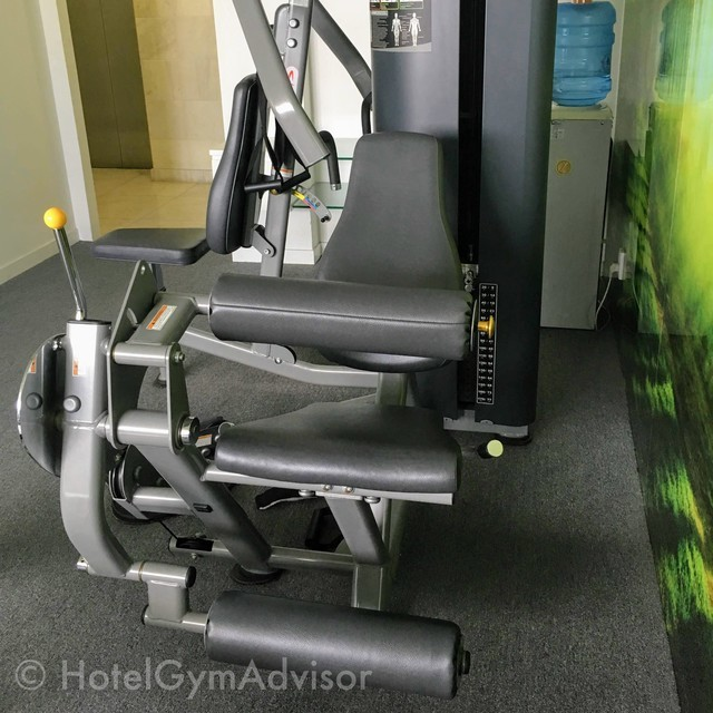Multi weight machine in EMM Hotel Saigon