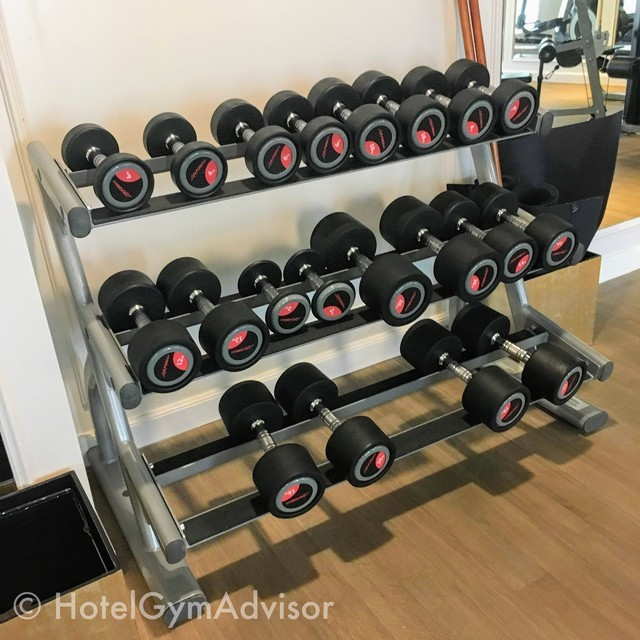 Dumbbells at Hotel des Arts Saigon MGallery Collection