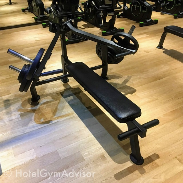 Chest press at Howard Johnson Incheon Airport and Days Hotel & Suites Incheon Airport