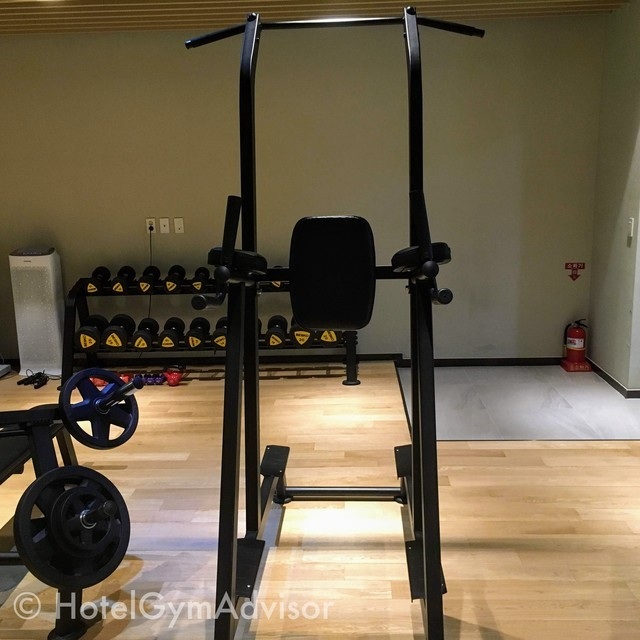 Chin-up bar at Howard Johnson Incheon Airport and Days Hotel & Suites Incheon Airport