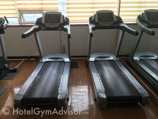 Cardio machines at Best Western Premier Incheon Airport