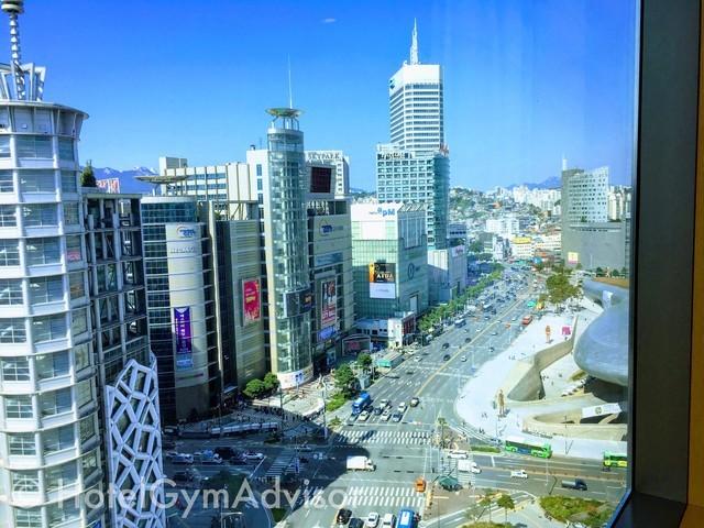 相鉄ホテルズ ザ スプラジール ソウル 東大門の客室からの眺め