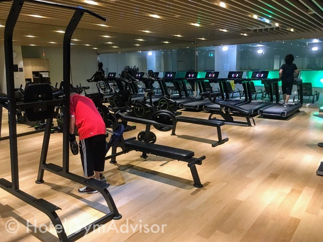 Gym at Howard Johnson Incheon Airport and Days Hotel & Suites Incheon Airport