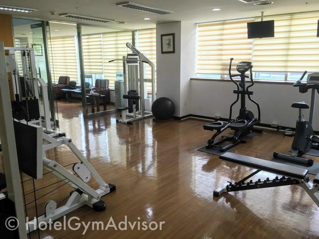 Gym at Best Western Premier Incheon Airport