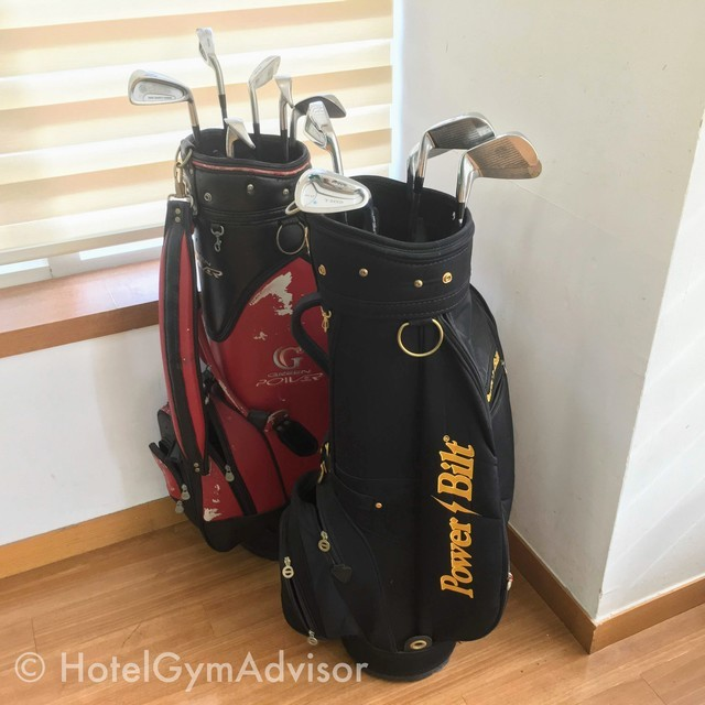 Rental golf clubs at Best Western Premier Incheon Airport