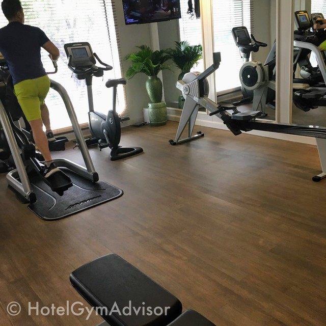 Cardio machines at Hotel des Arts Saigon MGallery Collection