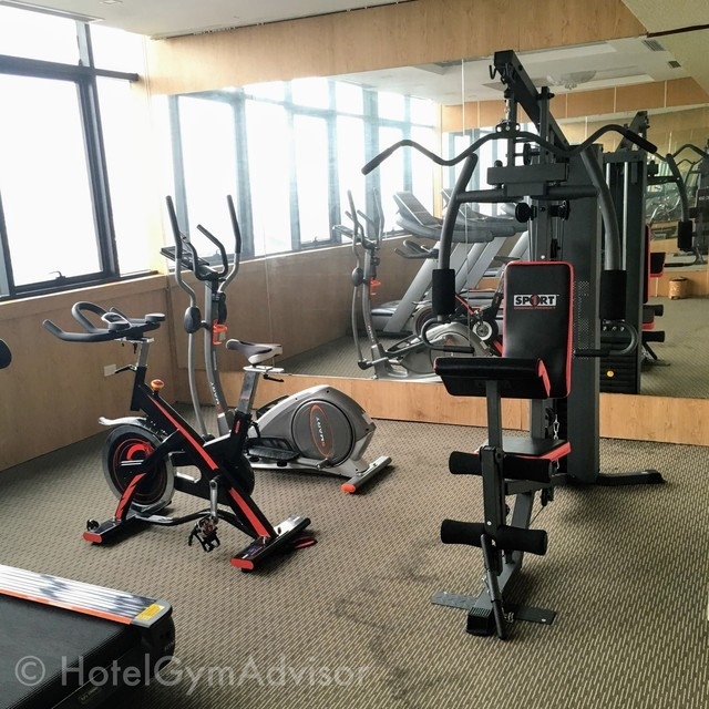 Gym at Nesta Hanoi Hotel