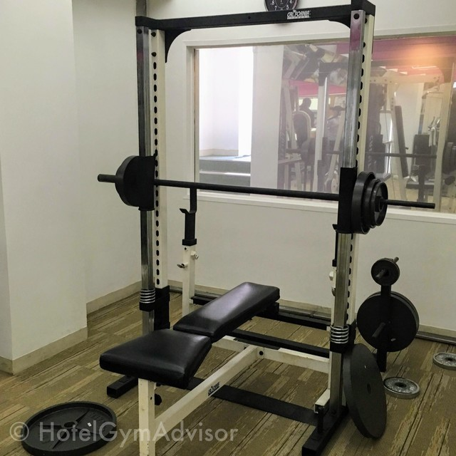 Smith machine at Hotel du Parc Hanoi