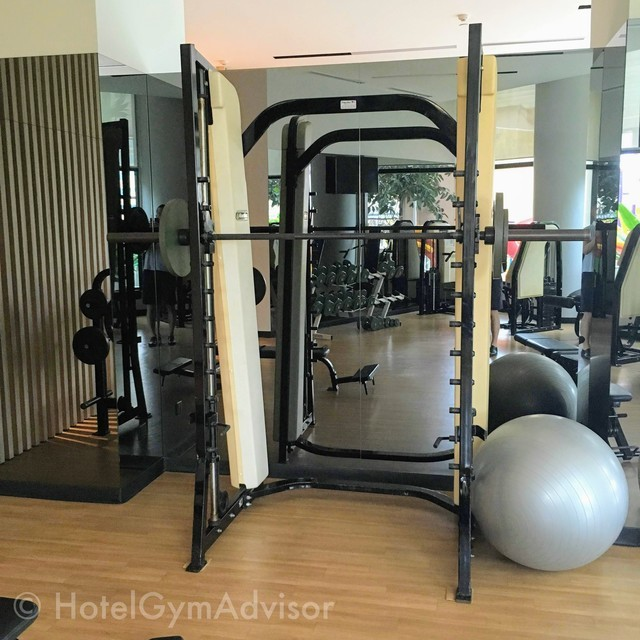 Smith machine at Somerset Grand Hanoi