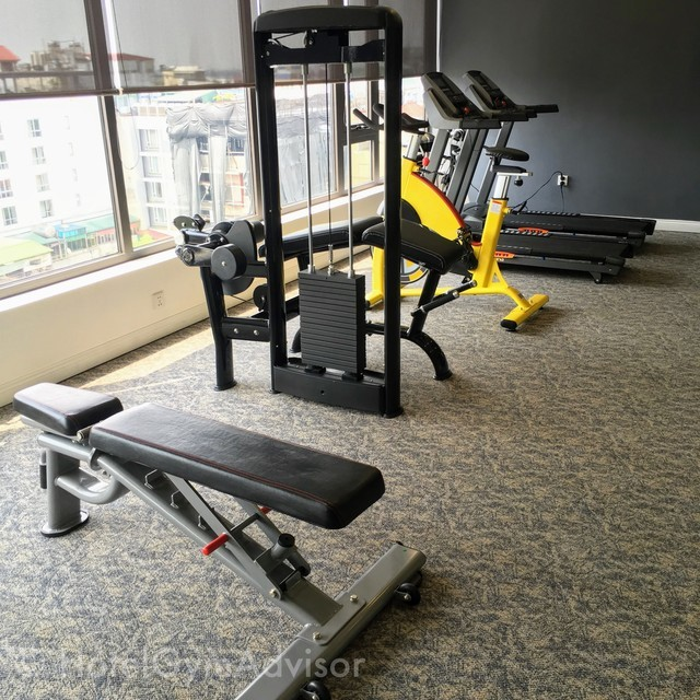 Gym at The Oriental Jade Hotel & SPA