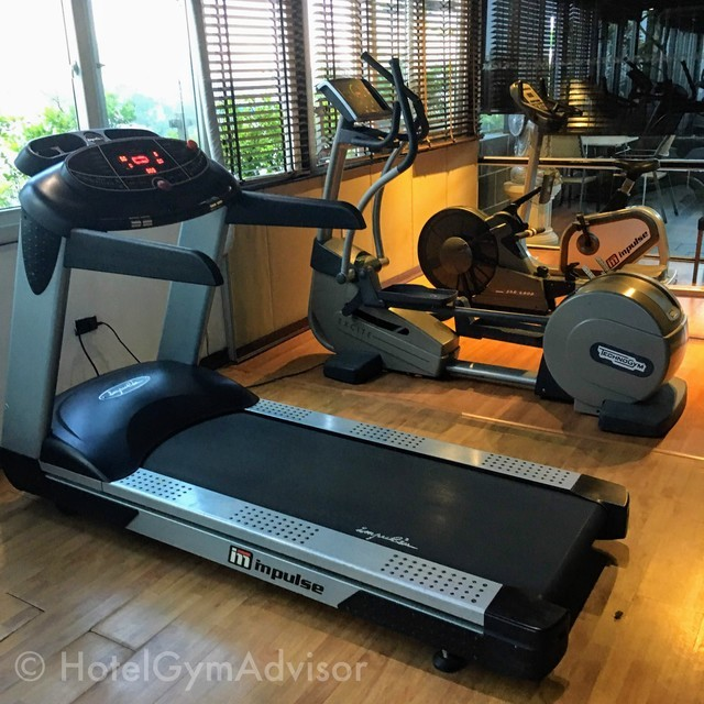 Cardio machines at La Casa Hanoi Hotel