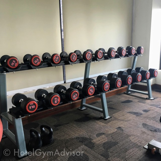 Dumbbells at The Ann Hanoi