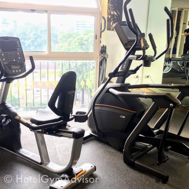 Cardio machines at  Citadines Regency Saigon