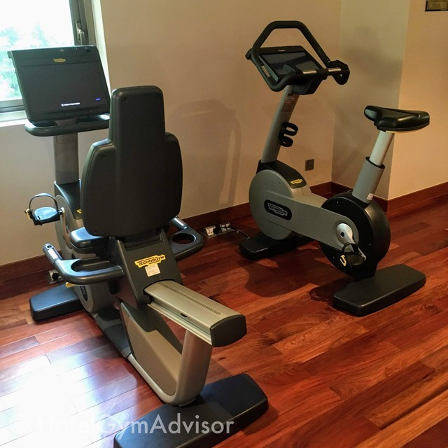 Cardio machines In Sherwood Suites