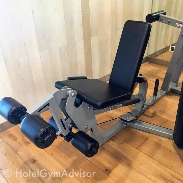 Leg press/curl machine at Novotel Saigon Centre