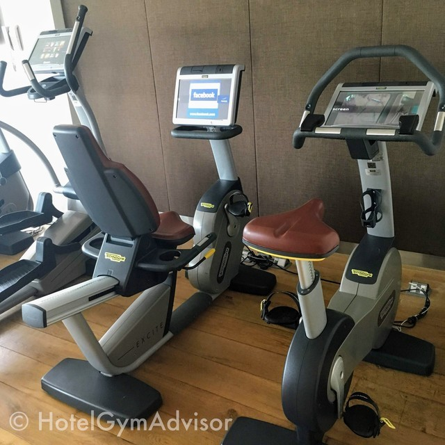 Cardio machines at Novotel Saigon Centre