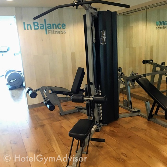 Lat pull down/seated row machine at Novotel Saigon Centre