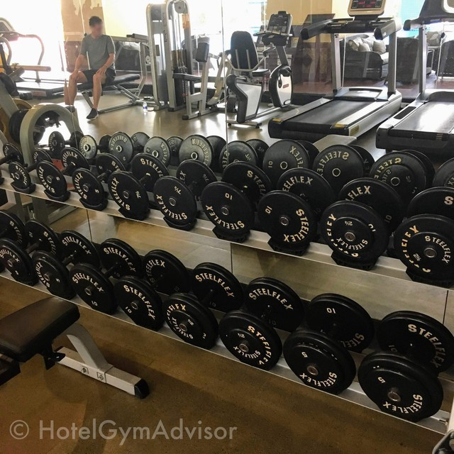 Dumbbells at Sherwood Residence